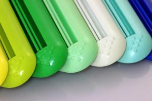Vytlačovače na tuby - různé barvy