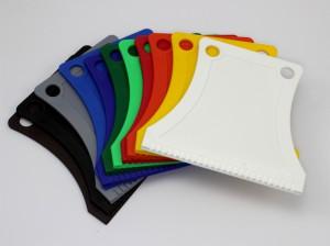 Autoškrabky - různá barevná provedení