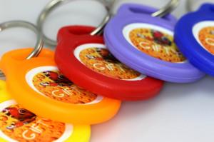 Klíčenky, přívěsky s žetony - Gifty