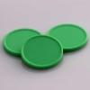 plastová kolečka zelené světlé