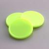 plastová kolečka žluté svítívé