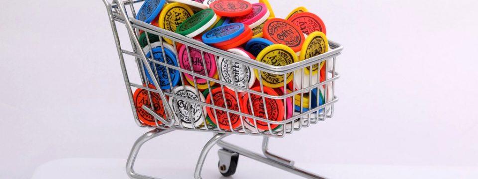 Žetony do nákupních vozíků 10 Kč mince