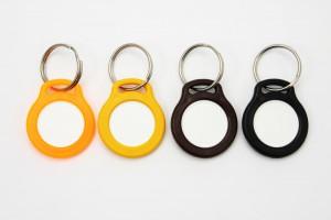 Klíčenky (oranžová, žlutá, hnědá, černá) na žeton