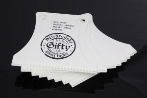 Autoškrabky na led - reklama Gifty