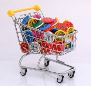 Žetony do nákupního košíku