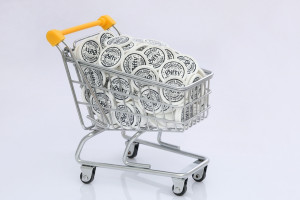Nákupní vozík kolečka - kolečka do vozíku