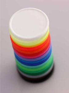 Žetony - různé barvy
