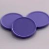 plastová kolečka fialová
