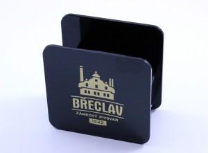Stojan na podtácky černý - Zámecký pivovar Břeclav