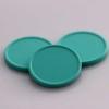 plastová kolečka zelené mentholové