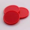 plastová kolečka červená