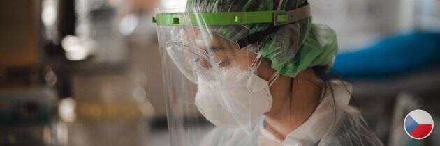 Obličejové štíty s certifikátem CE
